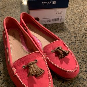 NWT - Sperry Top-Sider Pink Flats